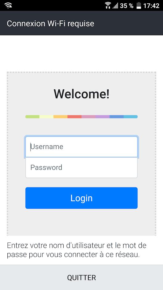Configure an internal Landing Page (Splash Page) on a